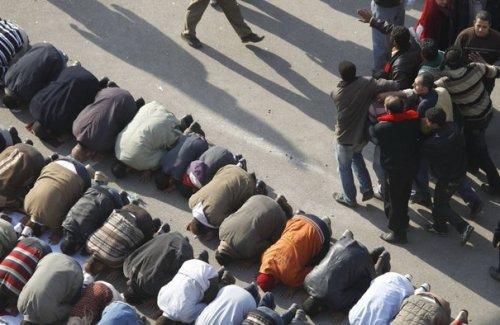 Manifestation silencieuse au Caire