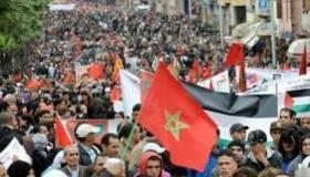 Manifestations du 20 fevrier au Maroc