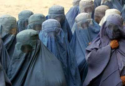 La burqa, ou voile intégral