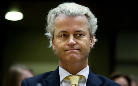 Wilders, tout sourire